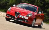 Alfa Romeo Giulietta cornering