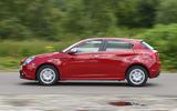 Alfa Romeo Giulietta side profile