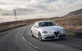 Alfa Romeo Giulia cornering