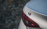 Alfa Romeo Giulia badging