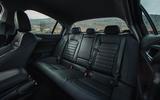 Alfa Romeo Giulia rear seats