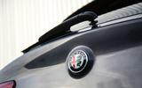 Alfa Romeo Stelvio boot badge