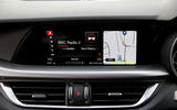 Alfa Romeo Stelvio infotainment system