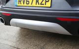 Alfa Romeo Stelvio rear diffuser