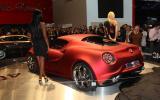 Geneva motor show: Alfa Romeo 4C