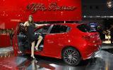 Paris motor show: Alfa Giulietta