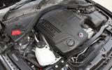 Alpina B3's twin turbocharged engine