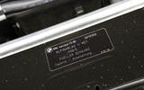 Alpina B5 builder's plaque