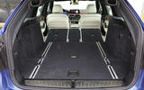 Alpina B5 extended boot space