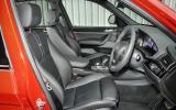 Alpina XD3's interior