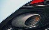 Aston Martin DB11 dual-exhaust system