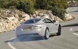 Aston Martin DB9 rear