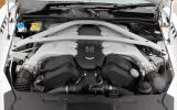 Aston Martin DB9's V12 engine
