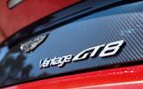 Aston Martin Vantage GT8 badging