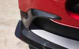 Aston Martin Vantage GT8 front splitter