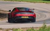 Aston Martin Vantage GT8 rear drifting