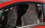 Aston Martin Vantage GT8 bucket seats