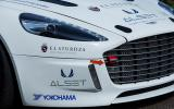 Hydrogen powered Aston Martin Rapide S finished the race
