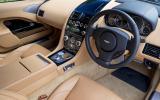 Aston Martin Rapide S dashboard