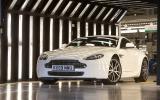 4 star Aston Martin V8 Vantage