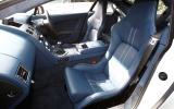 Aston Martin V8 Vantage front seats