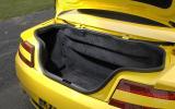 V8 Vantage Roadster's boot