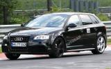 Hot Audi RS3 caught testing