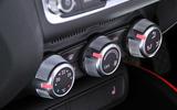 Audi A1 climate controls