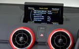Audi A1 infotainment system