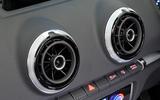Audi A3 Cabriolet air vents