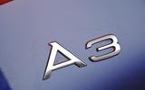 Audi A3 Cabriolet badging