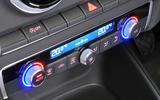 Audi A3 Cabriolet climate controls