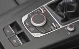 Audi A3 Cabriolet MMI controller