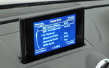 Audi A3 Cabriolet MMI infotainment screen