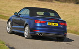 Audi A3 Cabriolet rear cornering
