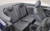 Audi A3 Cabriolet rear seats