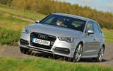 Audi A3 Sportback cornering