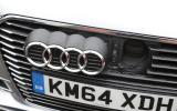 Audi A3 e-tron charging port