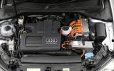 1.4TFSI engine in the A3 e-tron