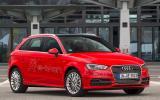 Audi A3 e-tron front quarter