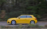 Audi A3 on the road