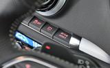 Audi A3 Sportback paddle shifters