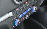 Audi A3 Saloon climate controls