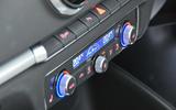 Audi A3 Saloon climate controls