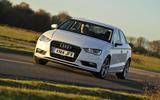 Audi A3 Saloon cornering