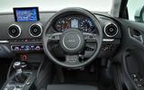 Audi A3 Saloon dashboard
