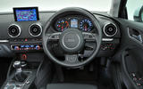 Audi A3 Saloon dashboard