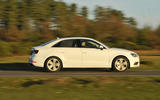 Audi A3 Saloon side profile