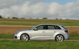 Audi A3 Sportback side profile