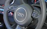 Audi A3 Sportback steering wheel